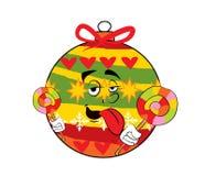 Weihnachtsbaum-Spielzeugkarikatur Lizenzfreie Stockbilder