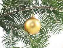 Weihnachtsbaum und Flitter lizenzfreie stockfotos