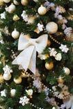 Weihnachtsbaum und Weihnachtsspielwaren Lizenzfreie Stockbilder