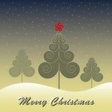 Weihnachtsbaum-Vektor Lizenzfreie Stockbilder