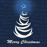 Weihnachtsbaum-Vektor Stockfoto
