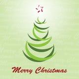 Weihnachtsbaum-Vektor Stockbild