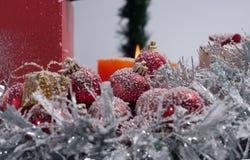 Weihnachtsbaum verziert Lizenzfreie Stockfotografie