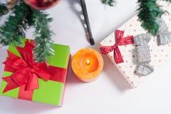 Weihnachtsbaum verziert Lizenzfreies Stockbild