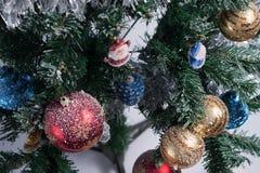 Weihnachtsbaum verziert Stockbilder