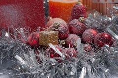 Weihnachtsbaum verziert Stockbild