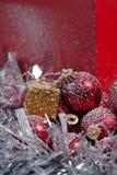 Weihnachtsbaum verziert Lizenzfreies Stockfoto
