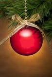Weihnachtsbaum-Verzierung Stockbilder