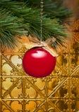 Weihnachtsbaum-Verzierung   Stockfoto
