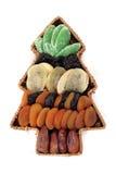 Weihnachtsbaum von der Frucht Lizenzfreies Stockbild