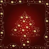 Weihnachtsbaumabbildung vektor abbildung