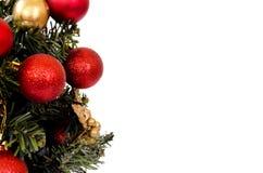 Weihnachtsbaumabschluß oben Lizenzfreie Stockfotos