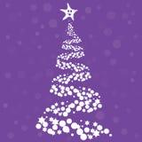 Weihnachtsbaumauslegung Lizenzfreie Stockbilder