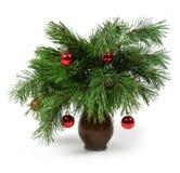 Weihnachtsbaumdekoration Stockfotografie