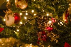 Weihnachtsbaumdekoration Stockbild