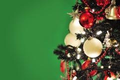 Weihnachtsbaumdekorationen Stockfotos