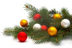 Weihnachtsbaumdekorationen Lizenzfreie Stockbilder