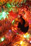 Weihnachtsbaumdetail Stockfotografie