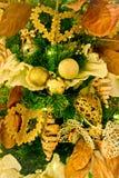 Weihnachtsbaumdetails Stockfoto