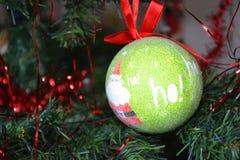 Weihnachtsbaumflitter Stockfotografie