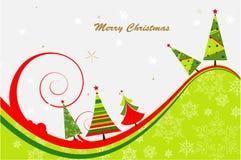 Weihnachtsbaumhintergrund Stockbilder