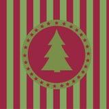 Weihnachtsbaumhintergrund Lizenzfreies Stockbild