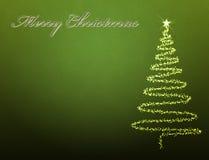 Weihnachtsbaumhintergrund vektor abbildung