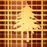 Weihnachtsbaumhintergrund Lizenzfreie Stockfotografie