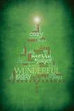 Weihnachtsbaumillustration lizenzfreie abbildung