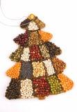 Weihnachtsbaumkuchen Stockfoto