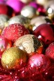 Weihnachtsbaumkugeln Lizenzfreie Stockfotos