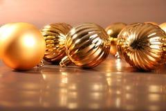 Weihnachtsbaumkugeln I Stockbilder
