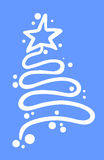 Weihnachtsbaumkunst Lizenzfreie Stockbilder