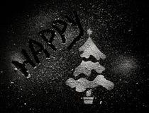 Weihnachtsbaummuster Stockfoto