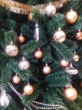 Weihnachtsbaummuster Stockfotografie
