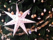 Weihnachtsbaummuster Lizenzfreie Stockbilder