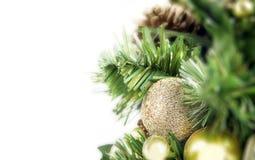 Weihnachtsbaumnahaufnahme lizenzfreies stockfoto