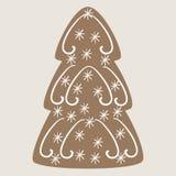 Weihnachtsbaumplätzchen Stockfoto