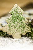 Weihnachtsbaumplätzchen stockfotografie