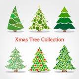 Weihnachtsbaumsammlung Lizenzfreie Stockbilder