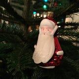 Weihnachtsbaumspielzeug Santa Claus Lizenzfreie Stockfotos