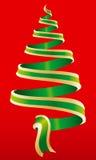 Weihnachtsbaumsymbol 2 lizenzfreie abbildung