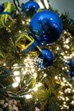 Weihnachtsbaumszene lizenzfreies stockbild