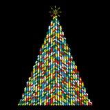 Weihnachtsbaumvektor lizenzfreie stockfotografie