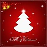 Weihnachtsbaumvektor - Dekorationsschönheit der Kunst auf Lager lizenzfreies stockbild