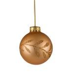 Weihnachtsbaumverzierung Stockbild