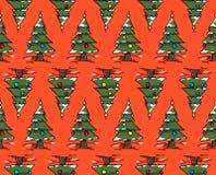Weihnachtsbaumwald Stockbilder