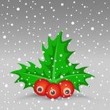 Weihnachtsbeere Lizenzfreie Stockbilder