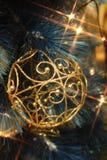Weihnachtsbeleuchtung stockfotografie