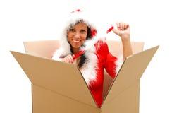 Weihnachtsüberraschung Stockfotografie